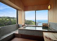 写真:2F 桧展望風呂付客室