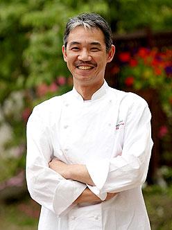 写真:洋食レストラン「ベルビュー」料理長