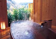 写真:貸切露天風呂/三の丸湯【花篝】