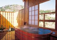 写真:貸切露天風呂/北の丸湯【花軍】