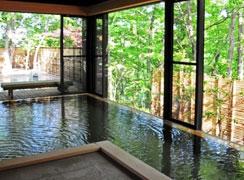 写真:女性大浴場「みずならの湯」 内湯・露天