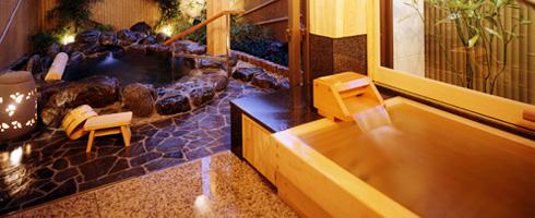 写真:貸切露天風呂「木の香」