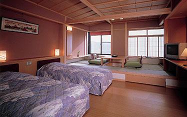 写真:ゆの館631号室和洋客室