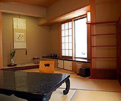 写真:銀波 温泉風呂付客室