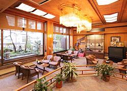 名物畳風呂と料理自慢の宿 ホテルきむら:ロビー