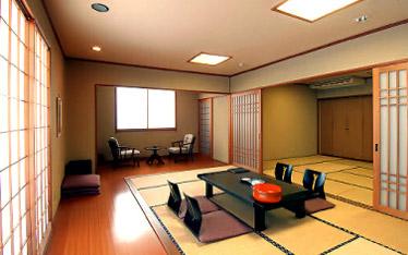 写真:一般客室|東館4階(2間続き)