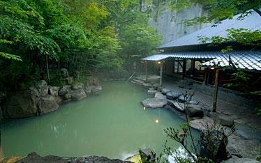 写真:びょうぶ岩風呂
