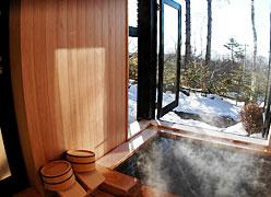 露天風呂のオーベルジュ つつじとかえで:別館展望風呂