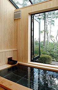 写真:別館展望風呂