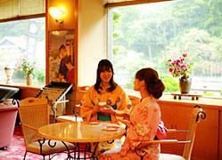 湯原国際観光ホテル 菊之湯:ロビー