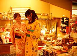 湯原国際観光ホテル 菊之湯:売店
