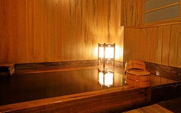 写真:貸切家族風呂 檜の湯