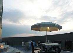 たかみや瑠璃倶楽リゾート:テラス
