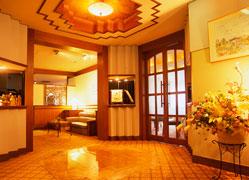 リゾートホテル ラフォーレ強羅:レストランエントランス