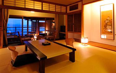 写真:和Modern露天風呂付客室|客室