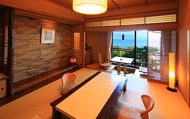 写真:和Modern一般客室|客室