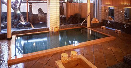 写真:木造りの湯「雅」