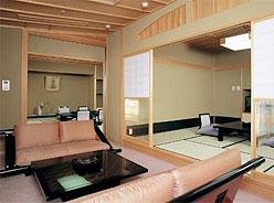 写真:露天風呂付特別室