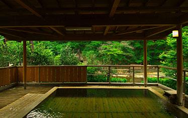 写真:福助の湯(男湯)|露天風呂