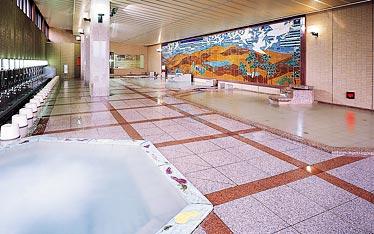 写真:壁画大浴殿