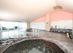 写真:梅松鶴 大浴場