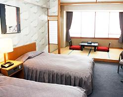 写真:洋室ツインベッド