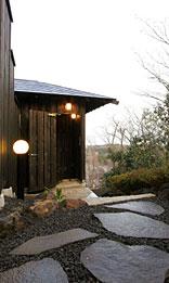 写真:貸切温泉露天風呂|入り口