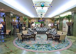 浜名湖グランドホテルさざなみ館:フロントロビー