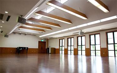 写真:多目的ホール(ばんやんカントリーハウス)