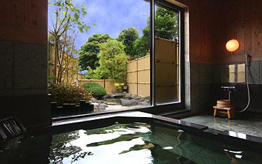 写真:庭園風露天風呂 浜の湯|内湯