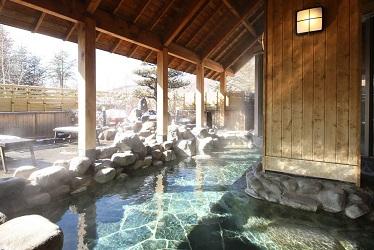 写真:鹿山の湯