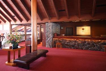 蓼科東急ホテル:フロント