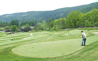 写真:パターゴルフ