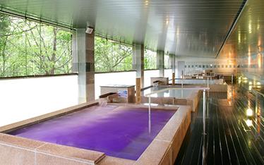 写真:女の湯歩道 いろはの湯(紫式部セレブ風呂)