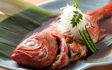 写真:旬魚煮付