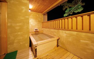 写真: 貸切露天風呂