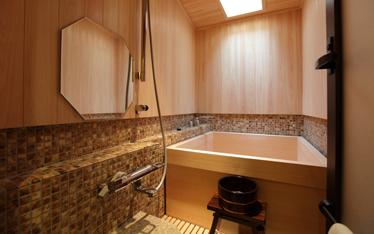 写真:客室内風呂