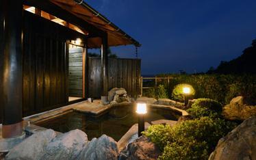 写真:【暁】庭園露天風呂