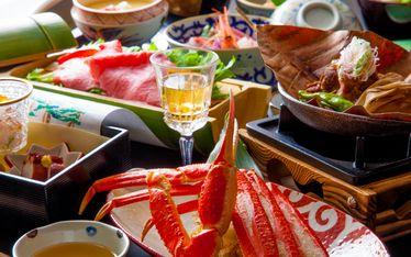 写真:会席料理スタイル