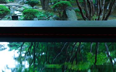 写真:日本庭園