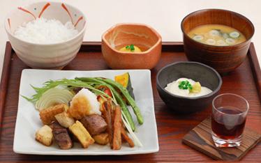 写真:料理一例