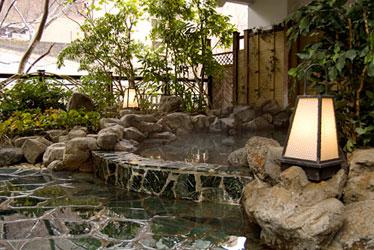 写真: 岩風呂