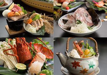 写真:鳴門・徳島の食材を活かした料理の数々