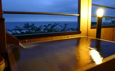 写真:露天風呂付客室(一例)イメージ