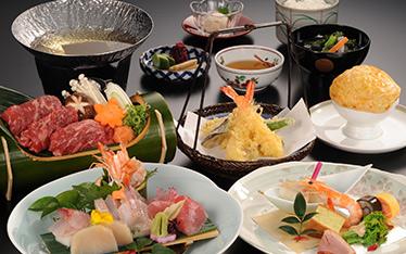 写真:日本料理「志摩」