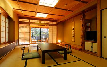 写真:山荘葉山客室