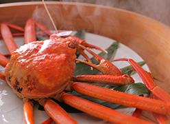 写真:このうえない日本料理を味わう。