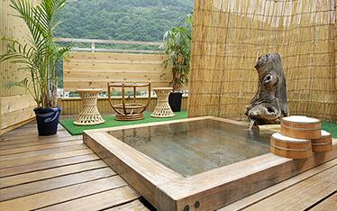 写真:貸切露天風呂