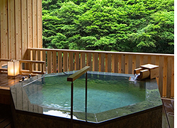 写真:『青石風呂』