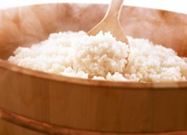 地元の自慢のお米。新米の時期ももうすぐです。